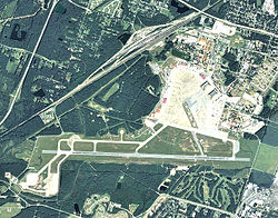 Arial Photo of Hunter Army Airfield