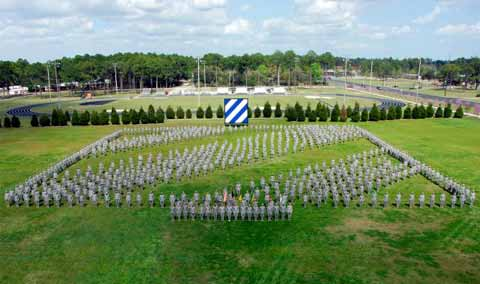 3rd Infantry Division at Hunter Army Airfield