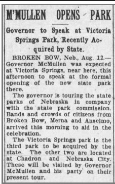 Governor opens Victoria Springs Park