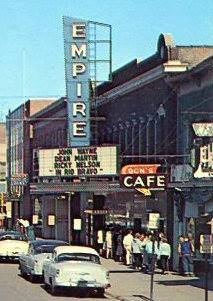 The Empire Theater marquee