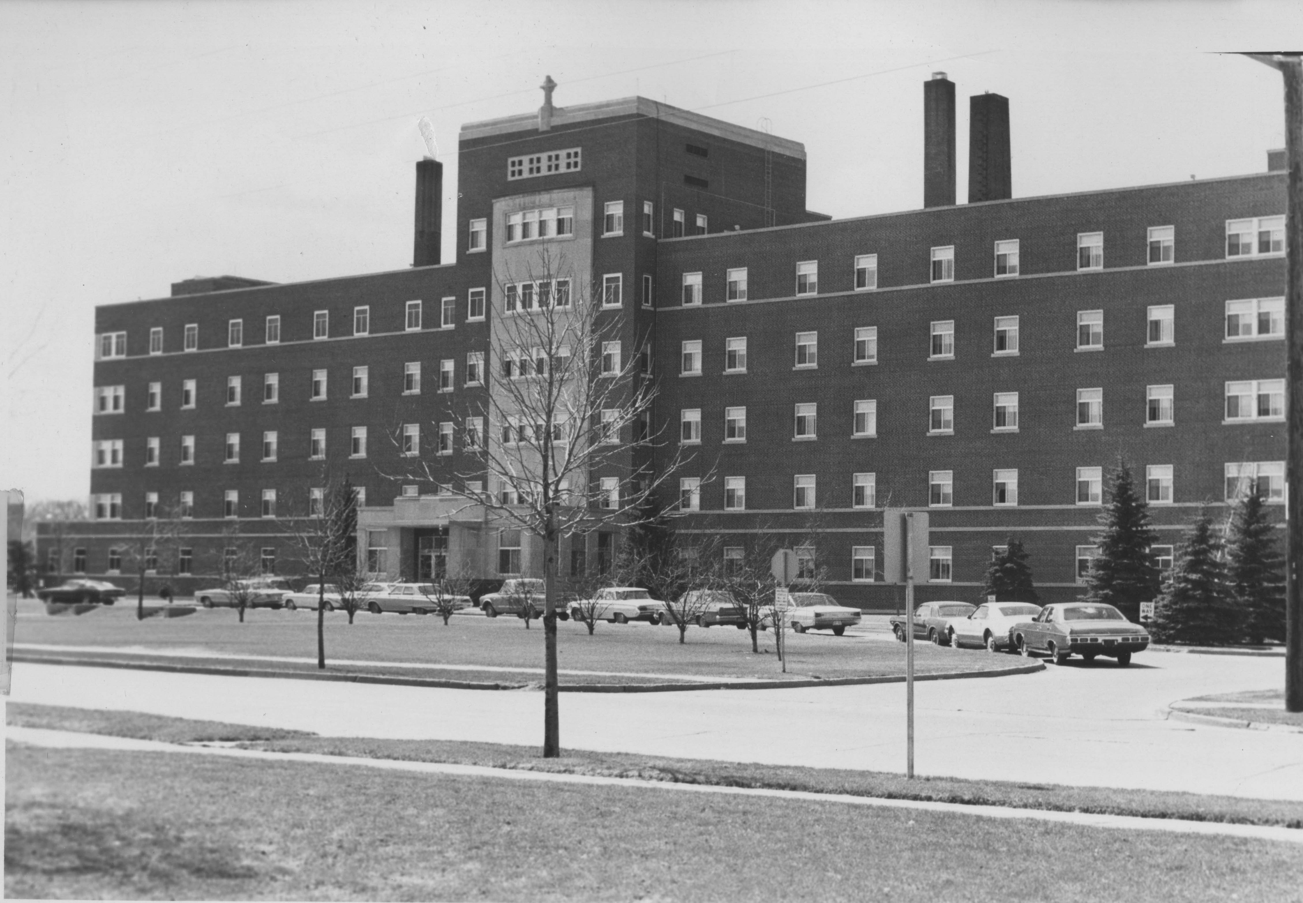 Saint Michael's Hospital in 1980