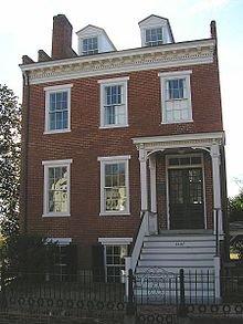 The facade of the Elmira Shelton House