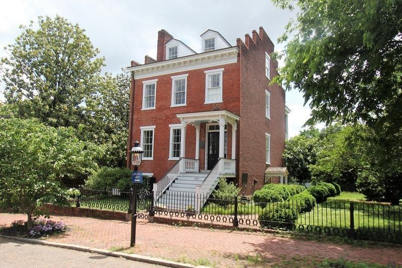 Street view of the Elmira Shelton House