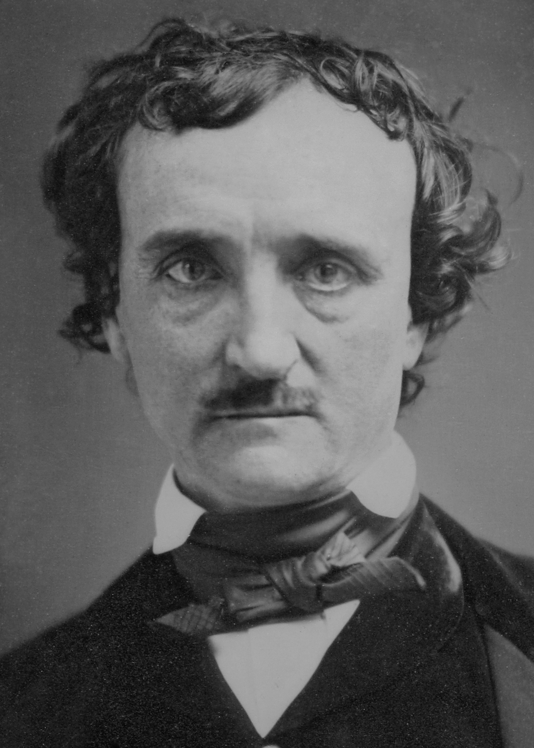 Edgar Allan Poe during 1849, the year of his death.