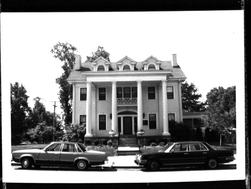 Gates Funeral Home in the 1970s