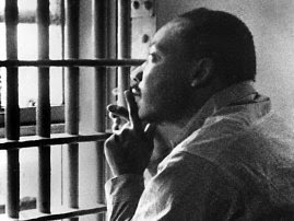 This photo shows King while imprisoned at this exact location in 1963
