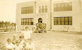 A showing of the Old Davie School as it was originally, just a simple school for the children of Davie.