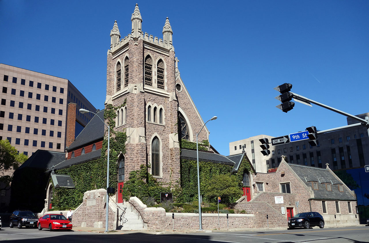 St. Paul's Episcopal Church was built in 1885 and is listed on the National Register of Historic Places.
