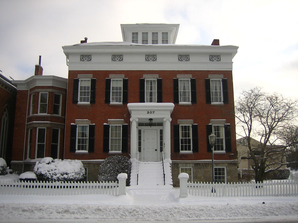 Hamilton White House (1842): Syracuse, NY.