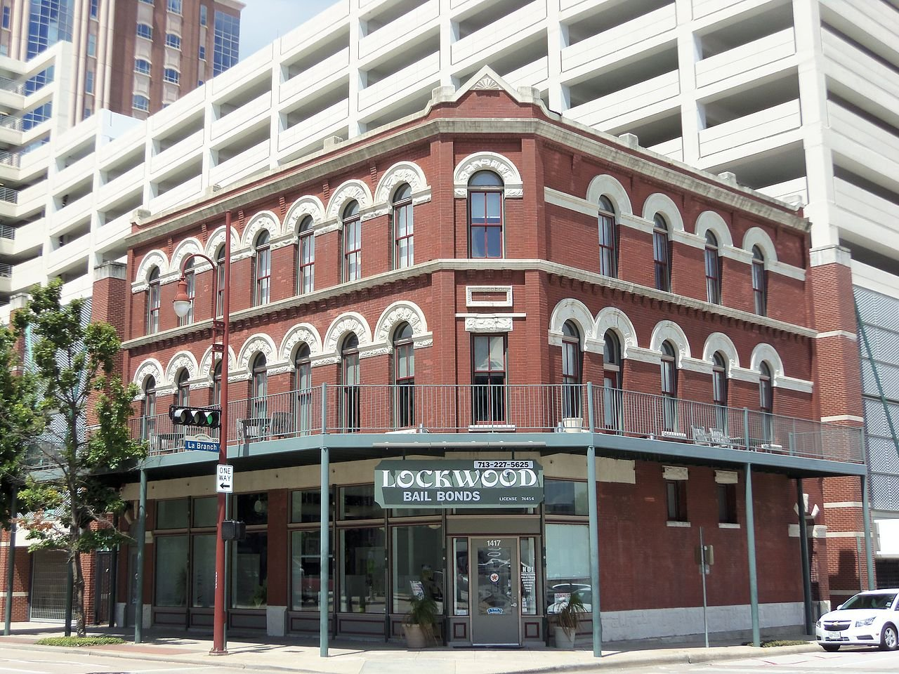 The former Palace Hotel is listed on the National Register of Historic Places. It is one of the few buildings left in the Second Ward built in the early 1900s.