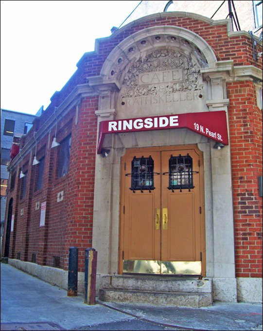 The Ringside Cafe in Columbus, Ohio.