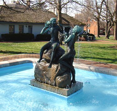Gratz Park Fountain Of Youth