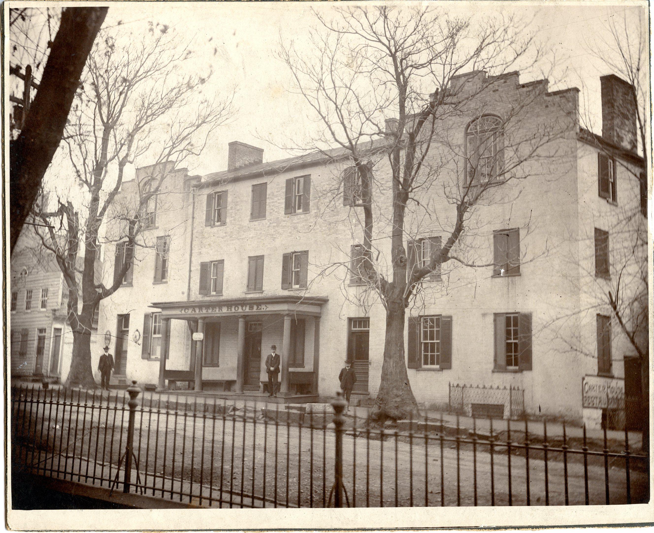 Carter House, ca. 1904