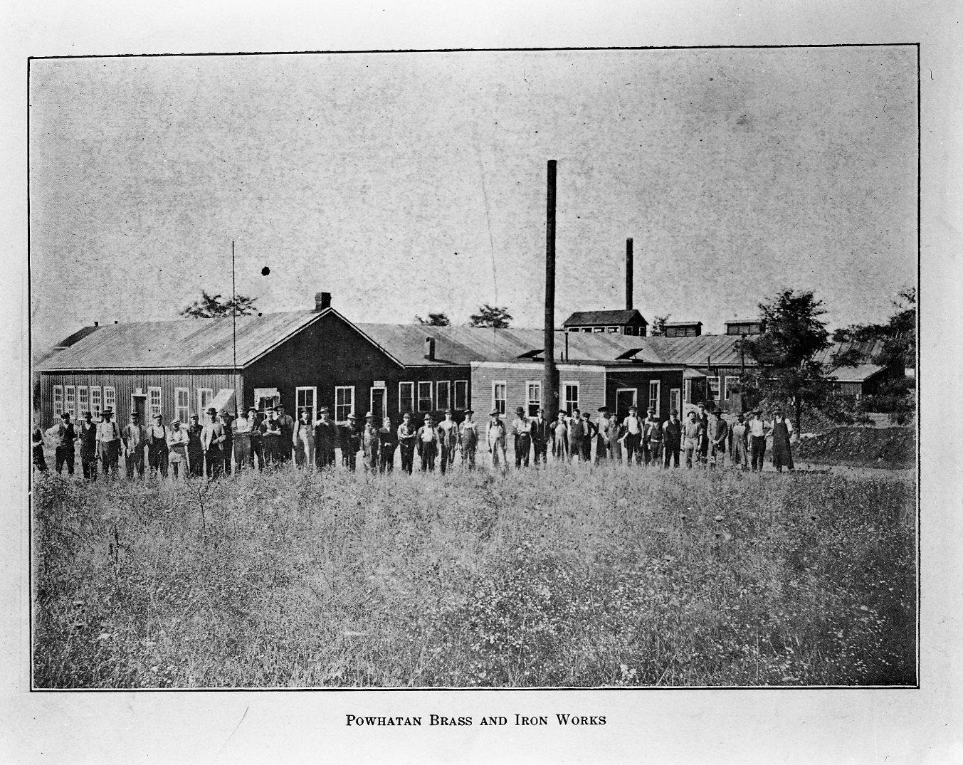 Powhatan Brass & Iron Works, undated