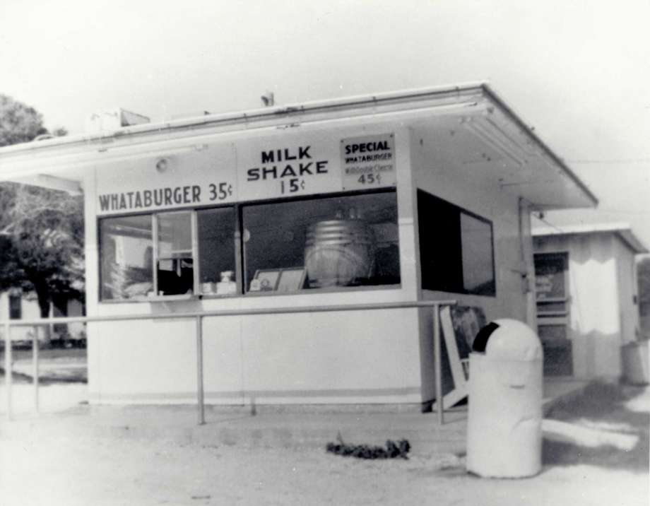 The very first Whataburger restaurant ever built. This restaurant was actually mobile and able to relocate if needed.