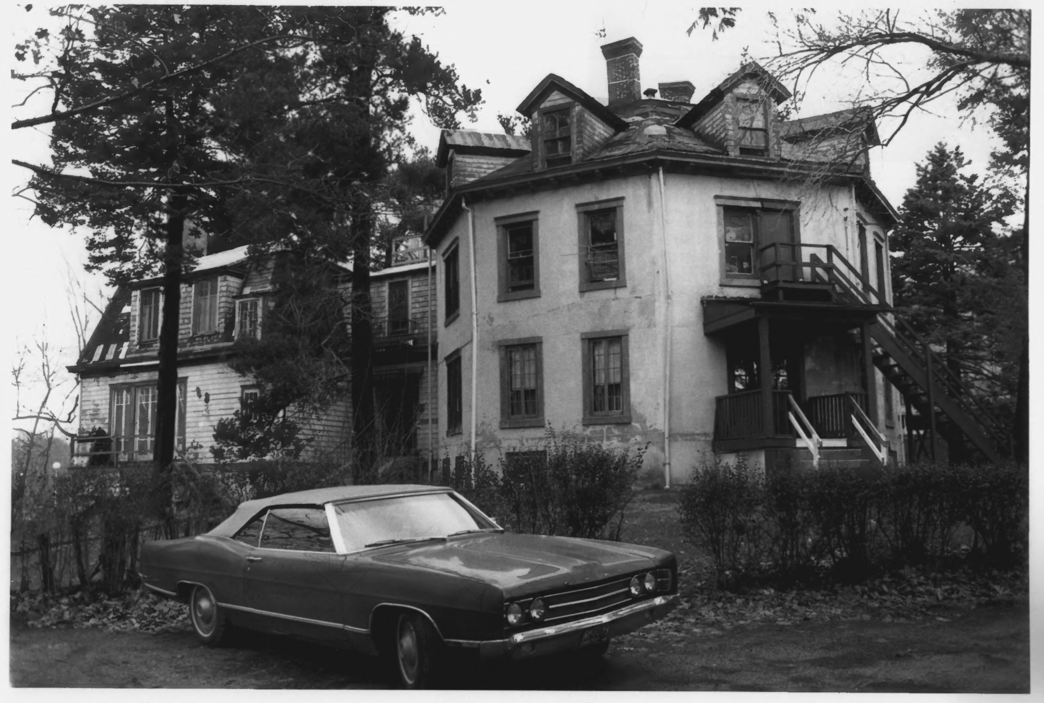 The Octagon House in August of 1979 by Stephen H. Hirschberg