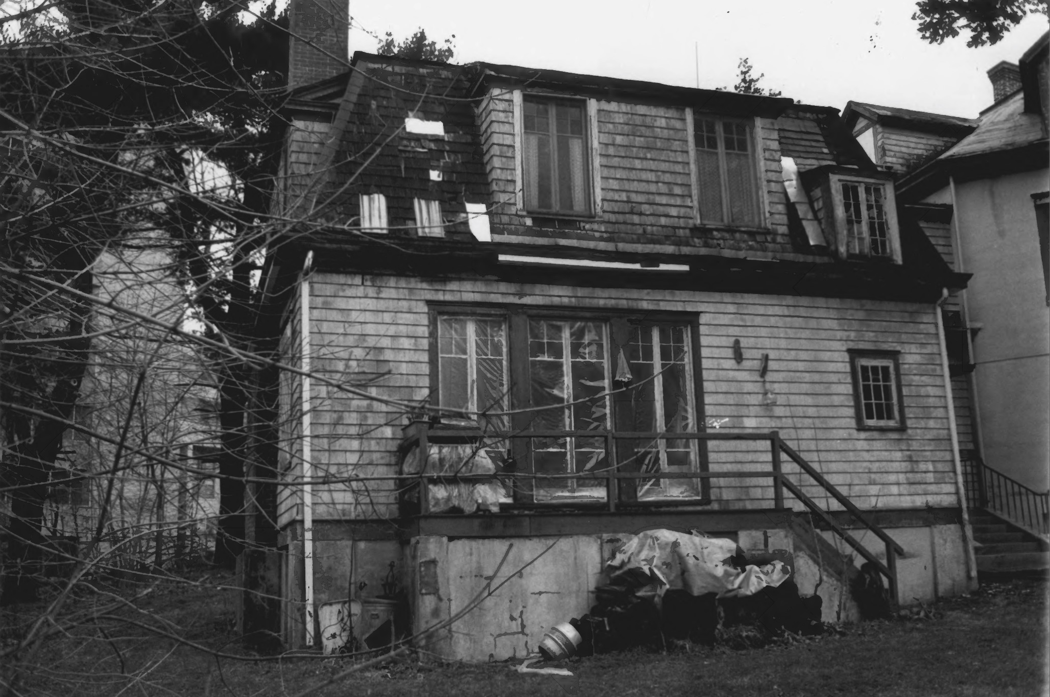The Rear Side of the Octagon House in August of 1979 by Stephen H. Hirschberg