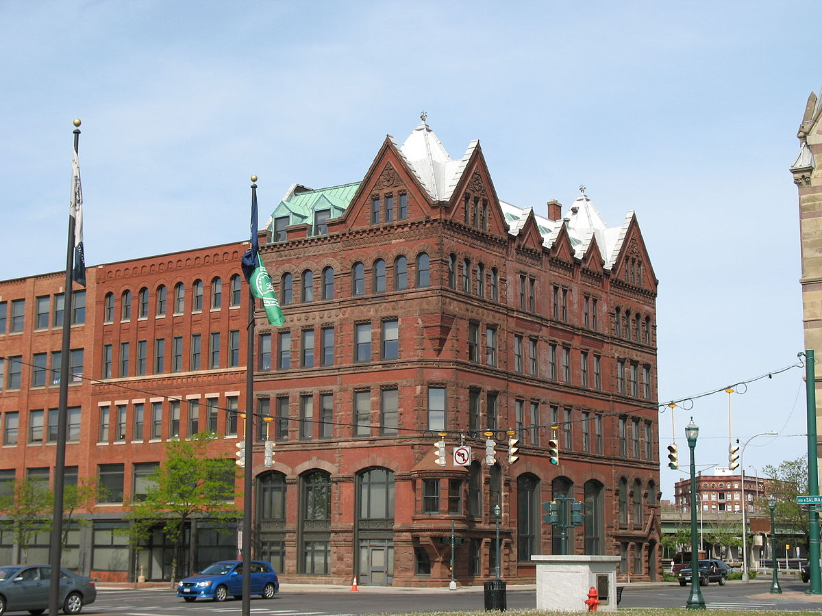 Third National Bank (now 100 Clinton Square), Syracuse.