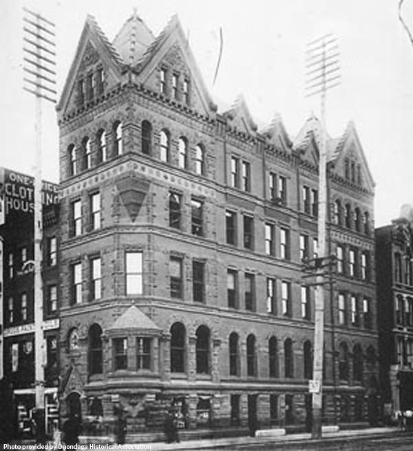 Historic Photo of Third National Bank (via Onondaga Historical Association)