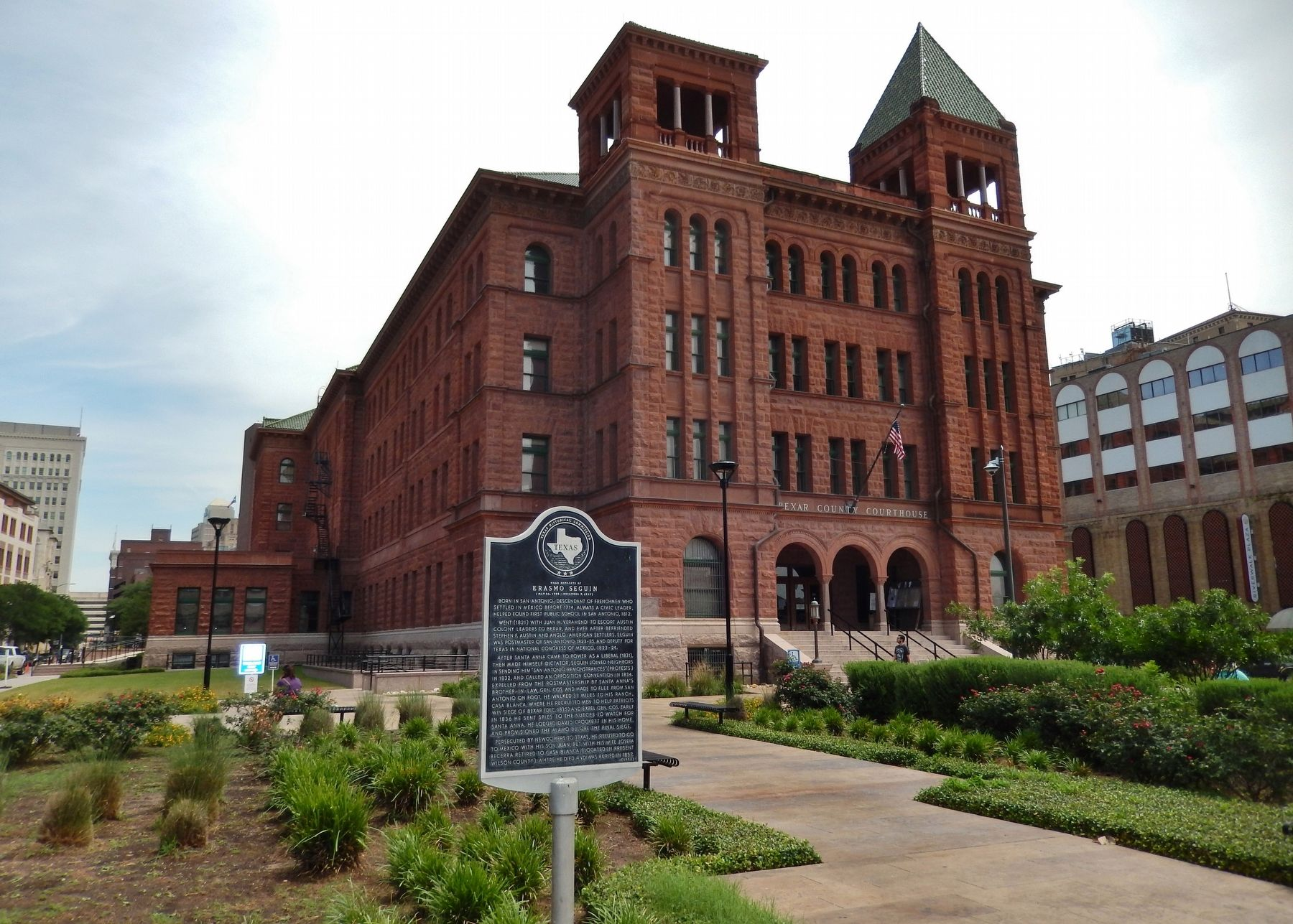 Bexar County Courthouse was originally built in 1896 and expanded on several occasions over the years. It remains one of the city's most important buildings.