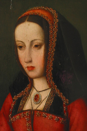 A painting of Juana la Loca.