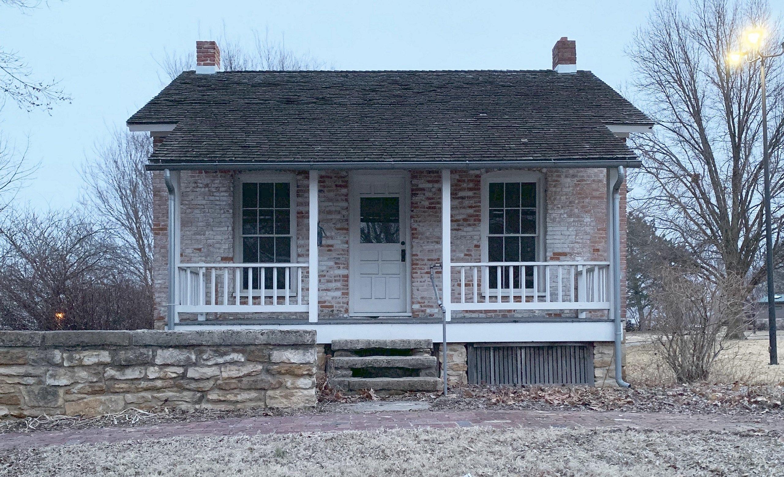 The street view of John Speer's house.