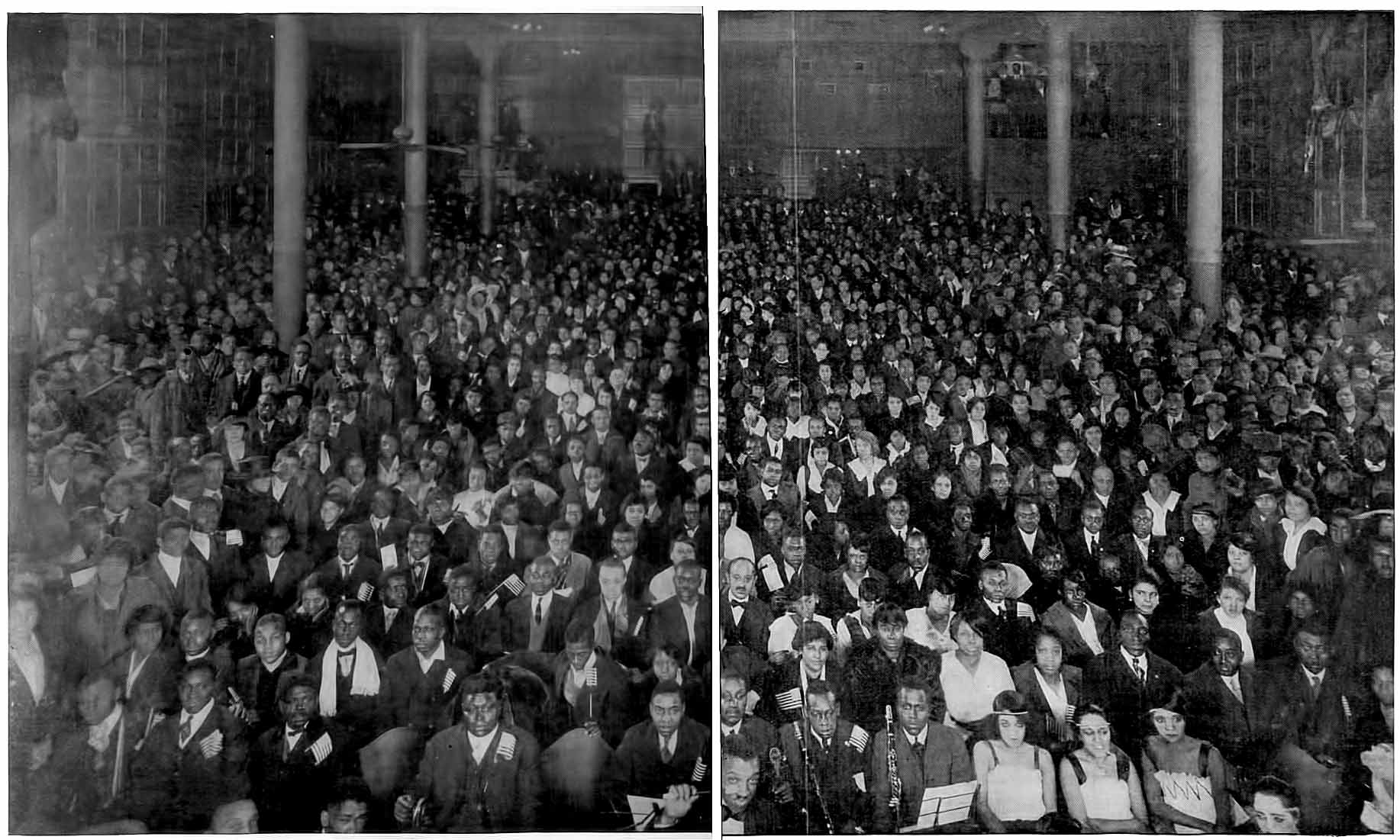 A Midnight Audience at the Booker T Washington Theater in St Louis