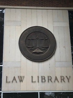 Law Library Building Entrance