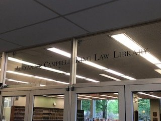 Law Library Entrance