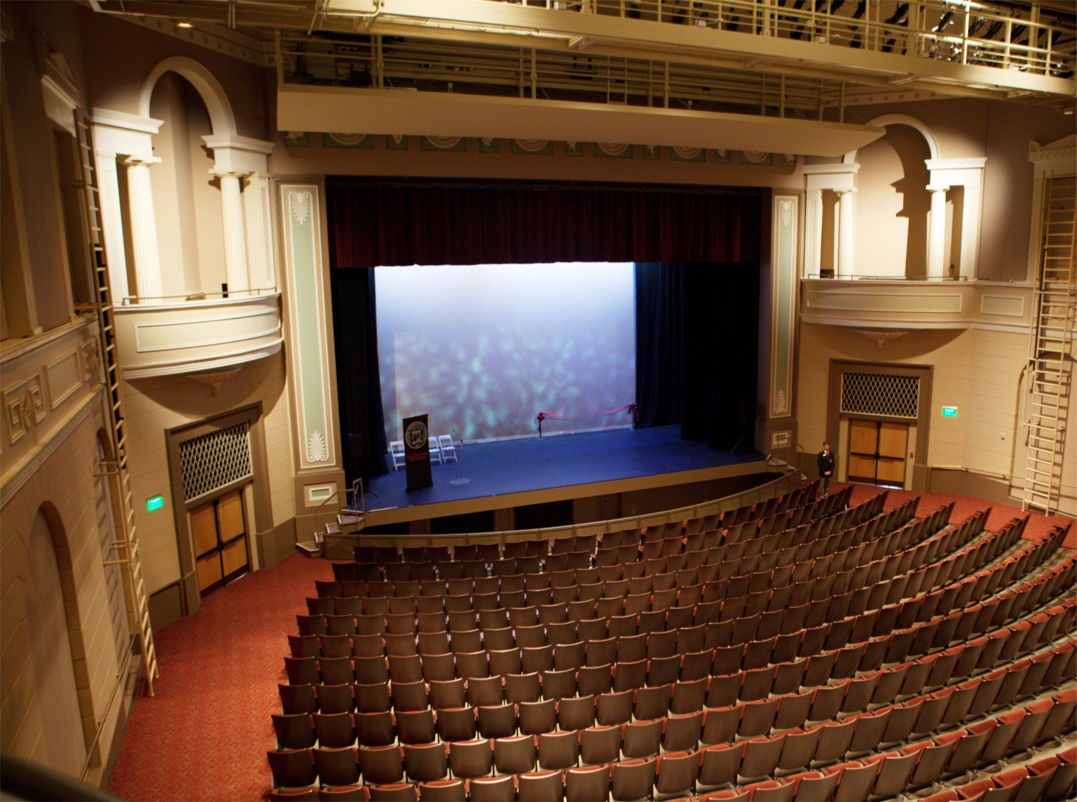 Fine Arts Building Main Stage post 2009 renovations.
