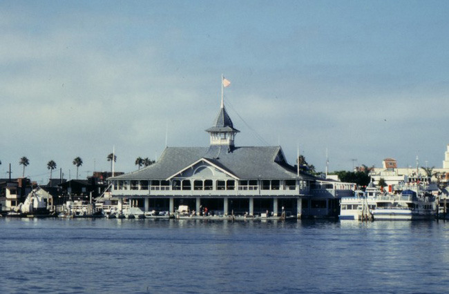 Balboa Pavillion is the most recognized landmark in Newport Beach