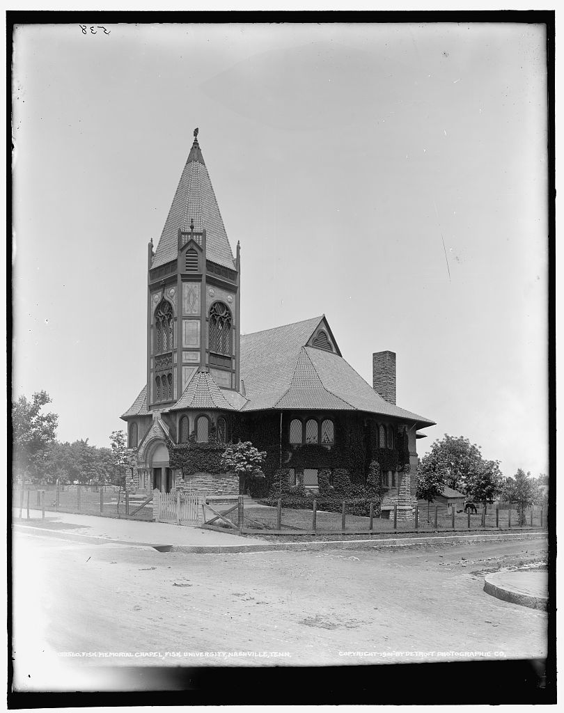 1901 photograph of Fisk Memorial Chapel, donated to Library of Congress by State Historical Society of Colorado in 1949