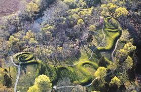The Serpent Mound today.