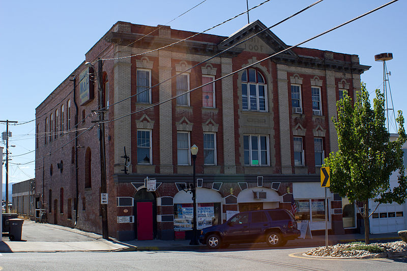 Colville Opera House and Odd Fellows Hall