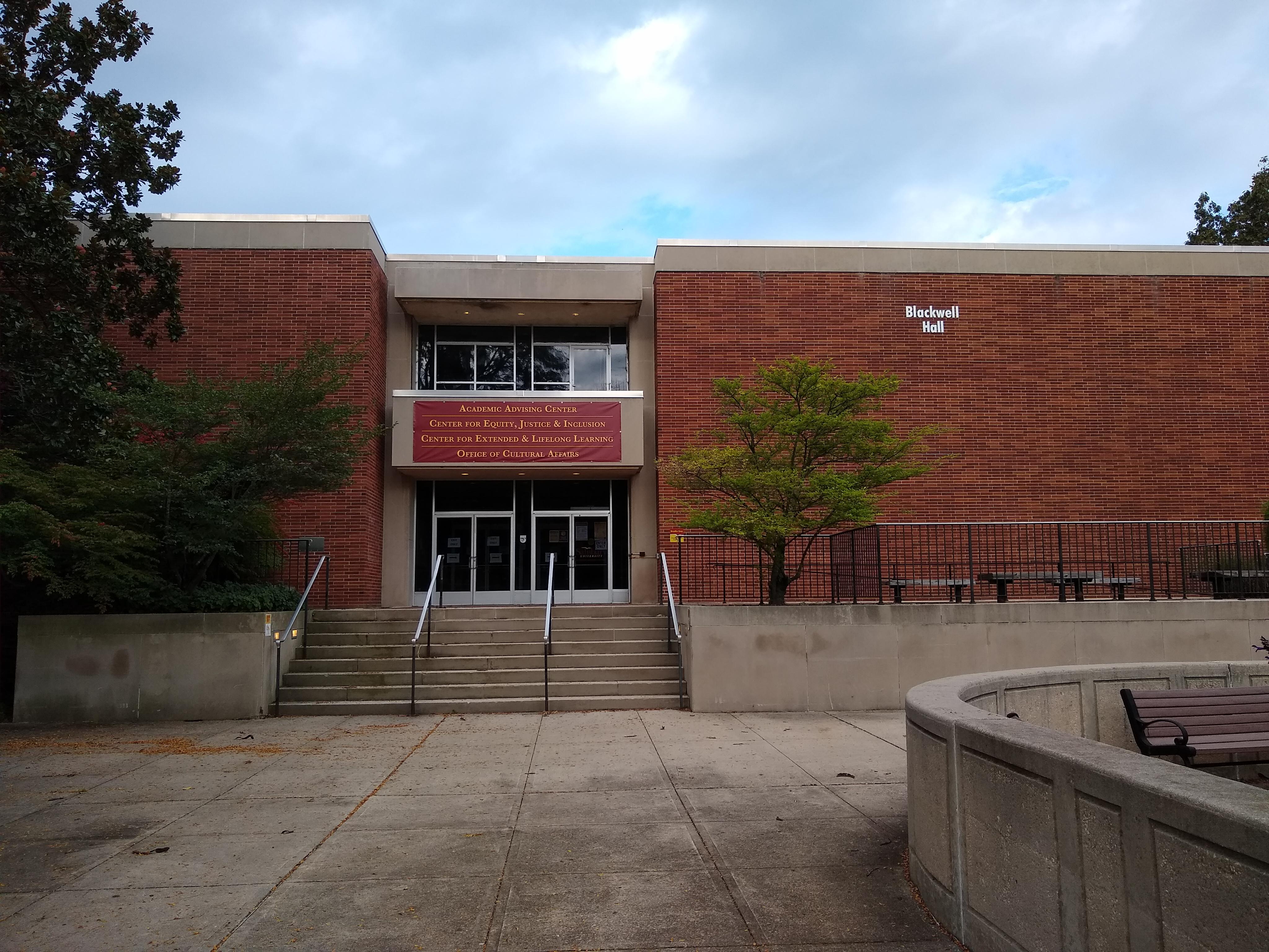 Blackwell Hall, 2020