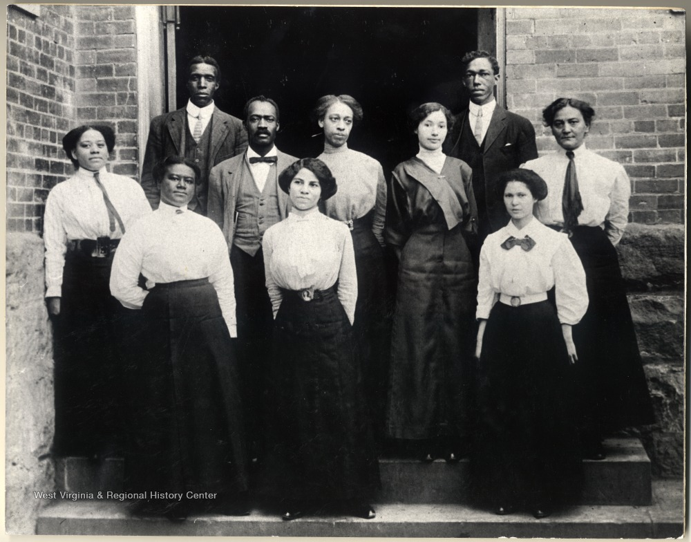 Douglass School faculty, circa 1919-20
