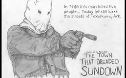 The Town that Dreaded Sundown Clip Art