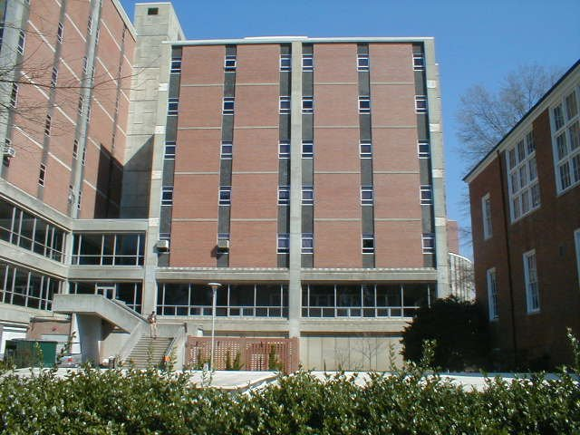 Exterior of Cox Hall
