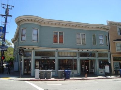 Mrs. E.P. (Stella) King Building, formerly a dry goods store under her ownership