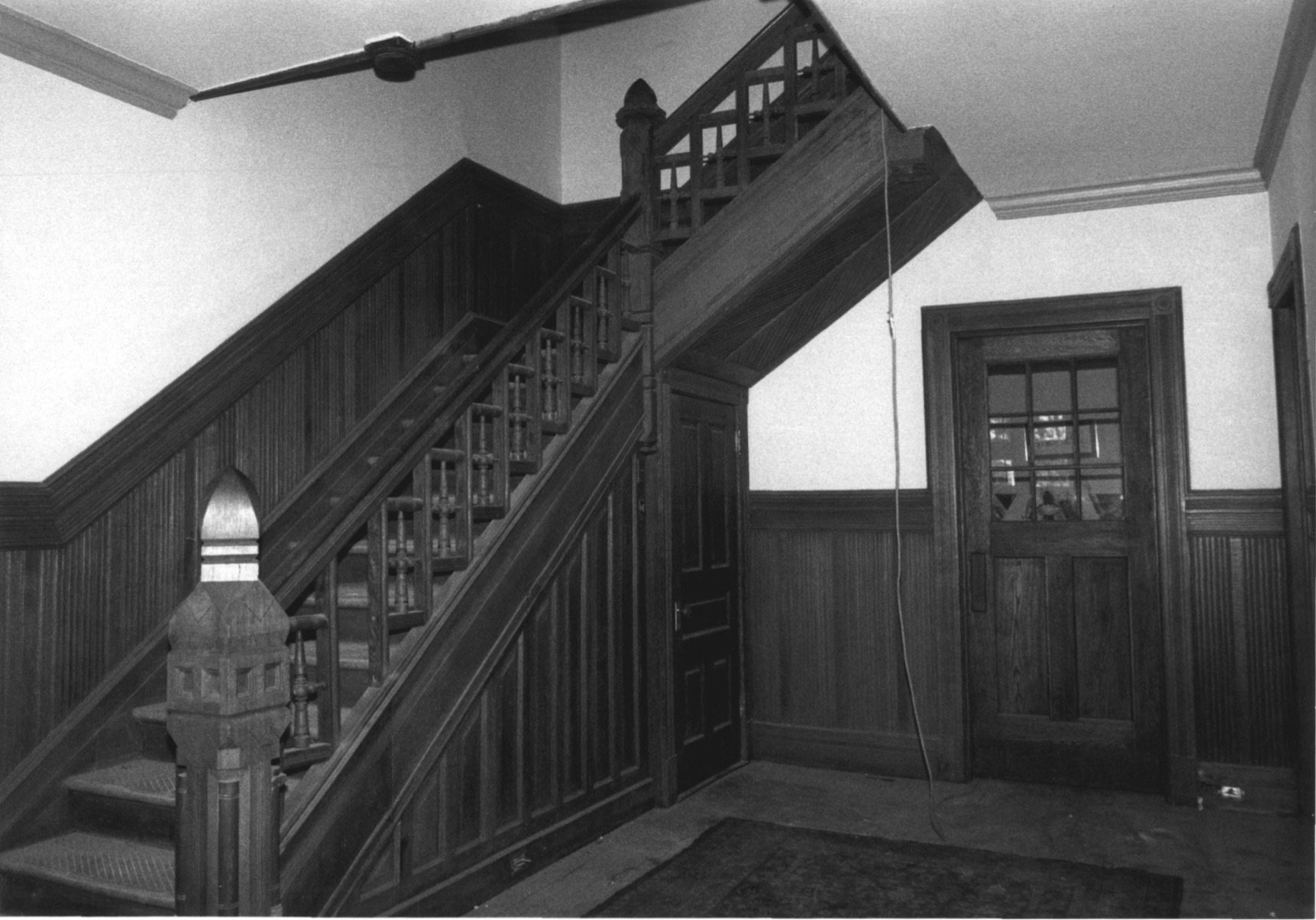 Detailed Staircase in Main Entryway