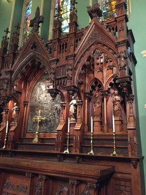 The altarpiece of Christ Church Cathedral