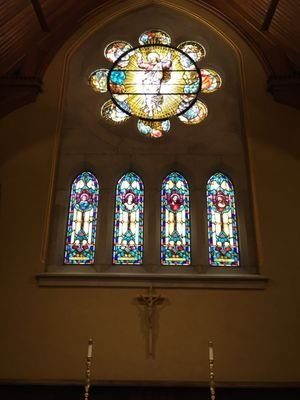 Interior - stained glass