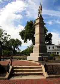 War of 1812 & Civil War Monument. It was created on May 8th, 1885.