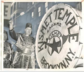 Shriners from the Kismet Temple