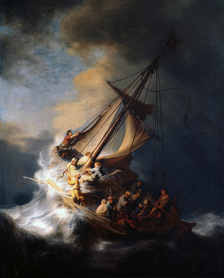 The Storm on the Sea of Galilee (Rembrandt)
