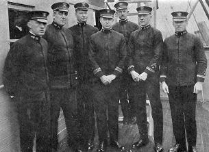 Example of high ranking naval personnel during World War One
