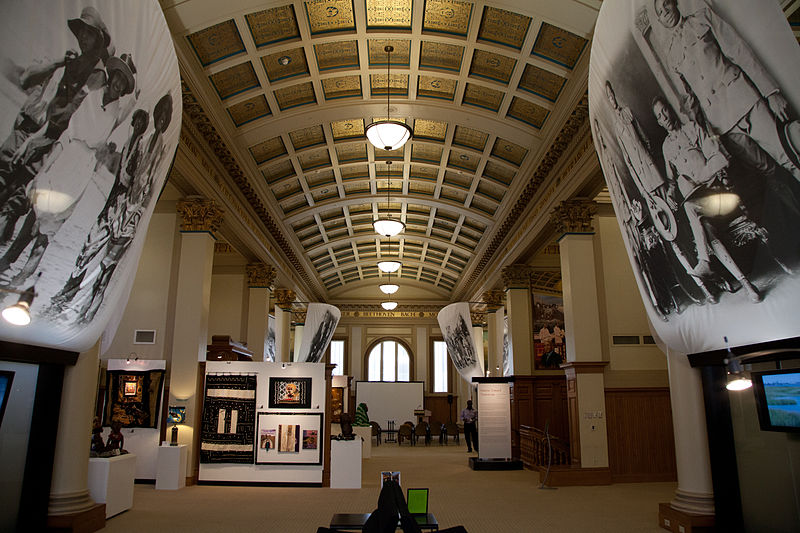 Here is a picture of the inside of one of their Exhibits on the second floor in the Museum Portion of the Building.