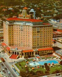 The Baker Hotel when it was active, year unknown.