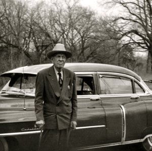 """The owner and hotel tycoon Theodore """"T.B."""" Baker circa 1952."""