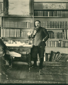 Kipling in his study at Naulakha.